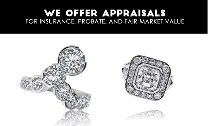 jewellery repair, fix jewellery, appraise jewellery, best appraisals, insurance appraisal, estate appraisal