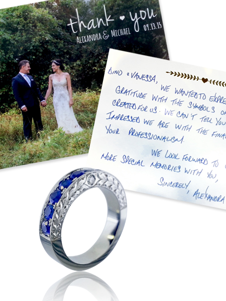 testimonials, best goldsmith, best jeweller, Toronto, best wedding bands, best engagement rings